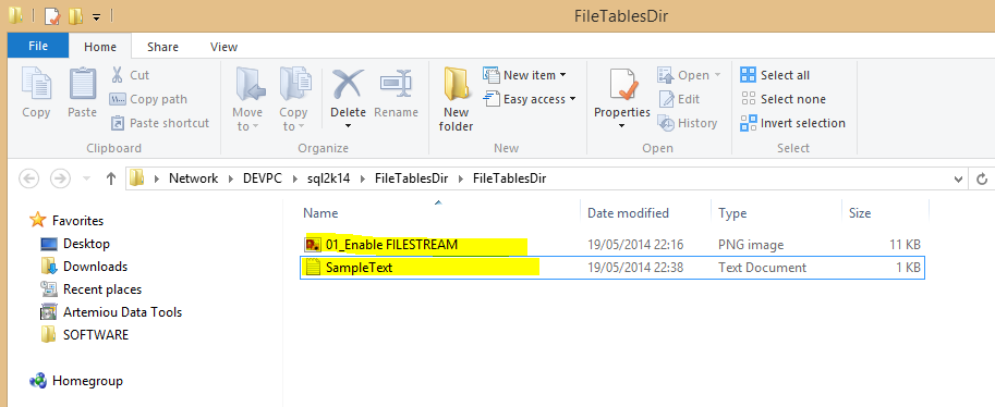 How to Import and Export Unstructured Data in SQL Server using FileTables - SQLNetHub