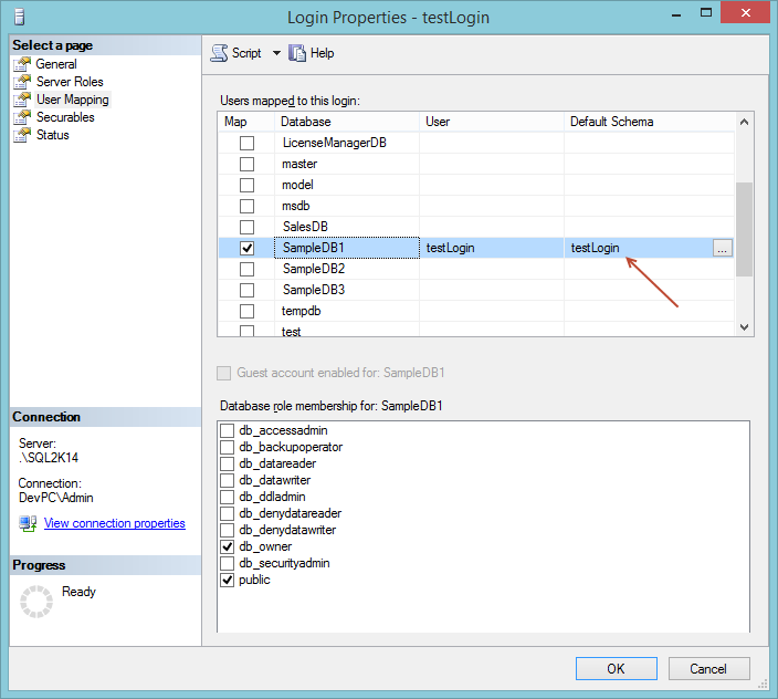 Transferring Ownership of All Database Objects Back to DBO - SQLNetHub