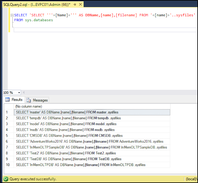 Executing T-SQL Statements Against All Databases in SQL Server (Article on SQLNetHub)