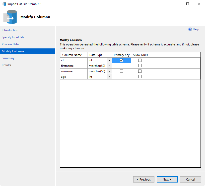 The Import Flat File Wizard in SSMS v17.x and later - Article on SQLNetHub
