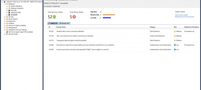 What's New in Microsoft SQL Server Management Studio v17.4