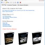SQL Instance Info Finder
