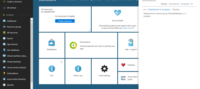 Learn Azure SQL Database: Creating your First Database