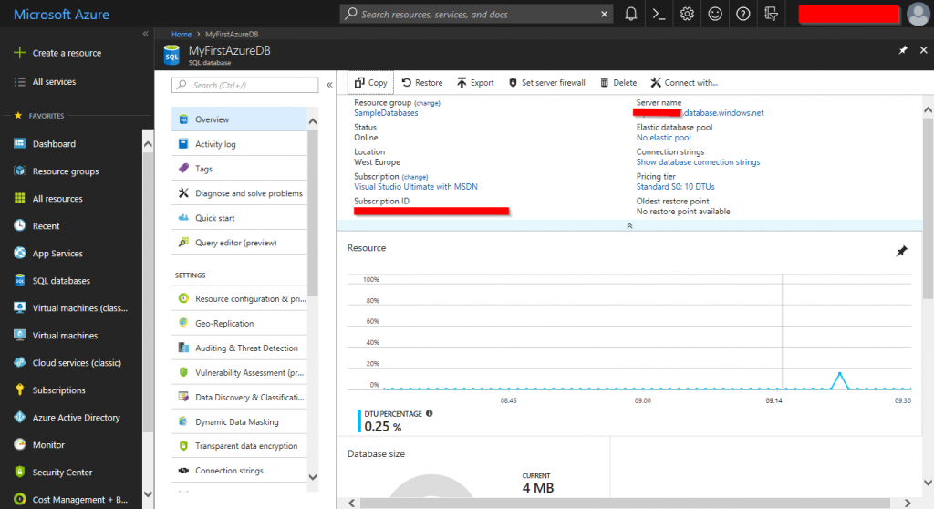 Learn Azure SQL Database: Creating your First Database - Article on SQLNetHub