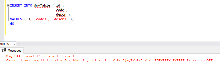The set identity_insert command in SQL Server - SQLNetHub Blog