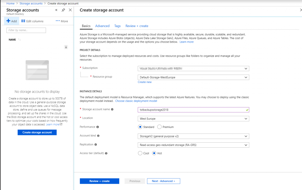 How to Backup a SQL Server Database from On-Premises to Azure Storage