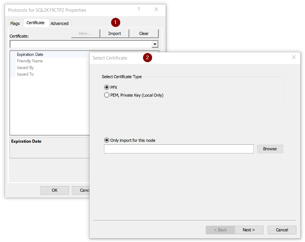 What's New in SQL Server 2019 - SSL/TLS Certificate Manager - Article on SQLNetHub