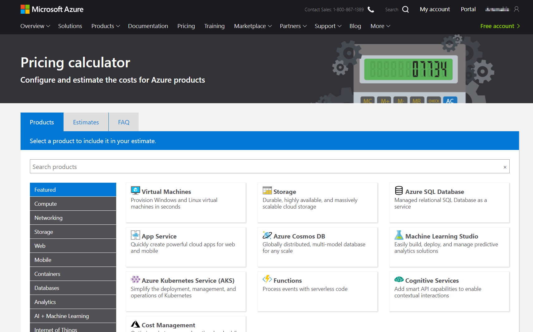 Azure Resource Cost Estimation and Management - SQLNetHub