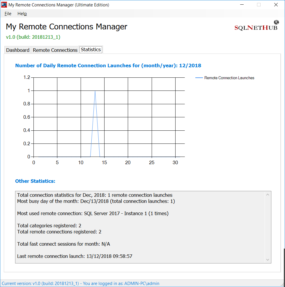 My Remote Connections Manager - Efficiently Manage your Remote Desktop Connections