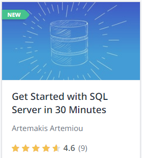 Get Started with SQL Server in 30 Minutes - Udemy Course with Special Discount