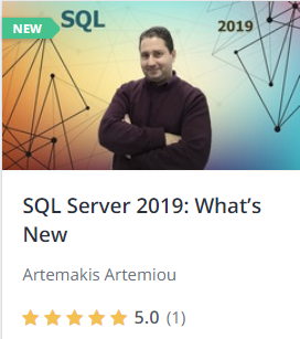 SQL Server 2019: What's New - Online course by Artemakis Artemiou