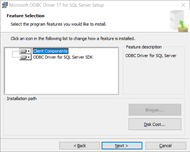 An error occurred for a dependency of the feature causing the setup process for the feature to fail (SQL Server 2019)
