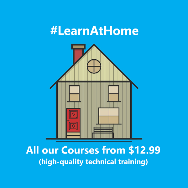 Learn at Home - Special Discount on all our Online Courses - SQLNetHub